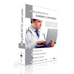 Asystent Gabinet Lekarski 2012 MAX -  wer. elektroniczna / lic. doż.