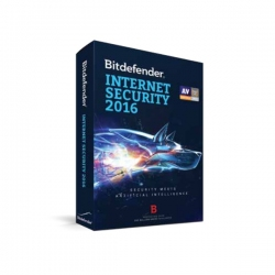 Bitdefender Internet Security 10 stanowisk 1 rok