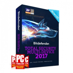 Bitdefender Total Security Multi-Device 2017 1 rok 10 desktop