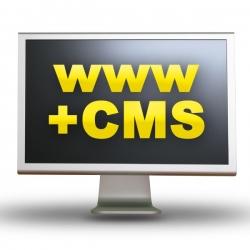 Strona www na start + CMS