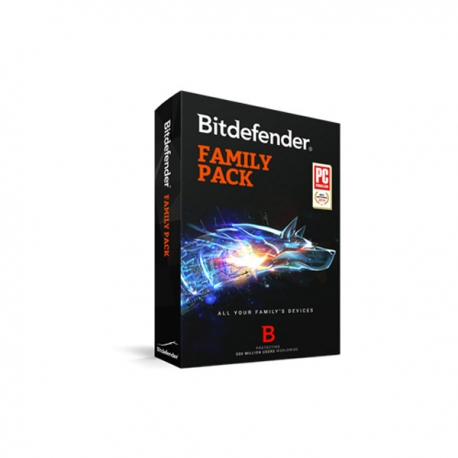 Bitdefender Total Security Family Pack
